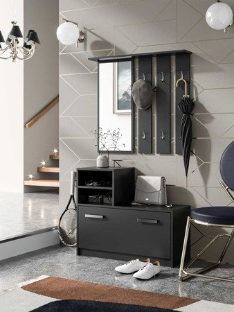 Amber  Hallway furniture Black FREE DELIVERY
