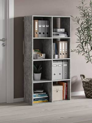 Bookshelf Homer 8 Open slots Marble effect FREE DELIVERY