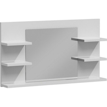 Mirror Shelf Channa White Gloss FREE DELIVERY