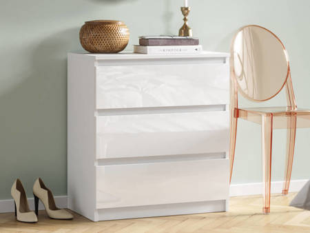 Chest of Drawers Pari 3 White Gloss