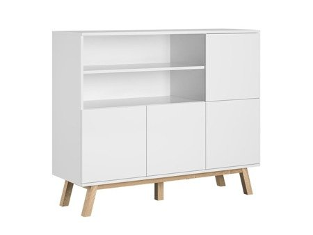 Commode Vero White Matte FREE DELIVERY