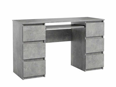 Jaris Desk Marble Effect FREE DELIVERY