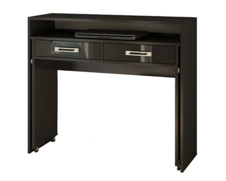 Desk Bloom Black Gloss FREE DELIVERY