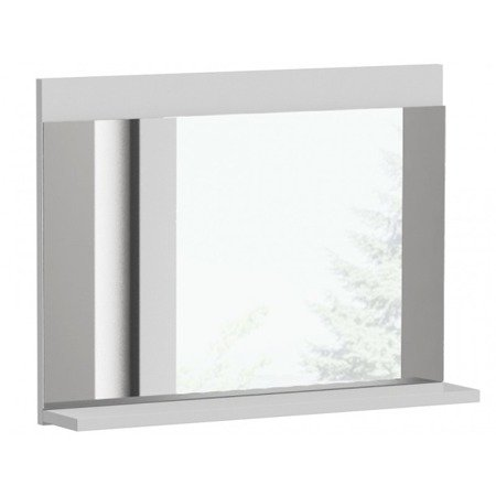 Mirror Shelf Lauri White Gloss FREE DELIVERY