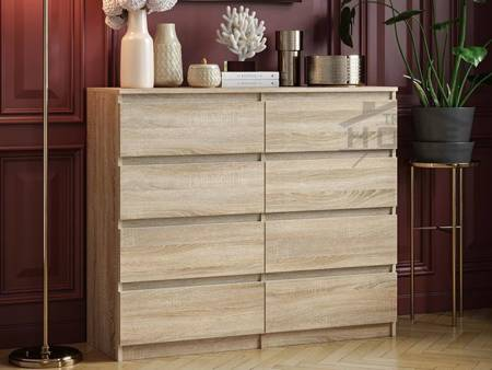 Pari 8 Chest of drawers Sonoma