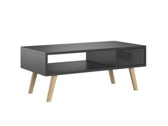 Set: TV Unit Romeo and Bench Julia Black Gloss FREE DELIVERY