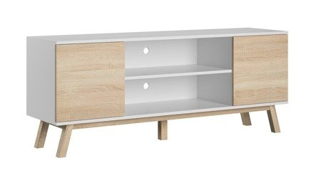 TV Unit Vero Sonoma/White FREE DELIVERY