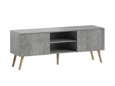 Set: TV Unit Romeo and Bench Julia Marble Effect