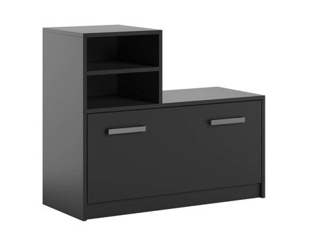 Shoe cabinet Ruby Black FREE DELIVERY