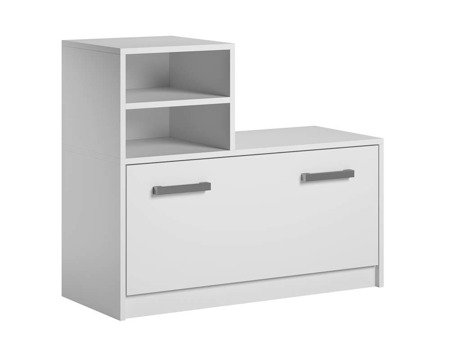 Shoe cabinet Ruby White