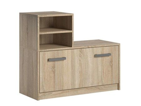 Shoe cabinet Ruby White Oak