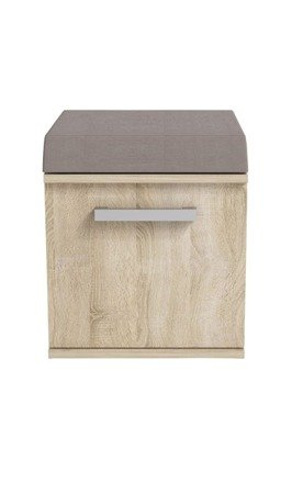 Shoe storage Merlin White Oak