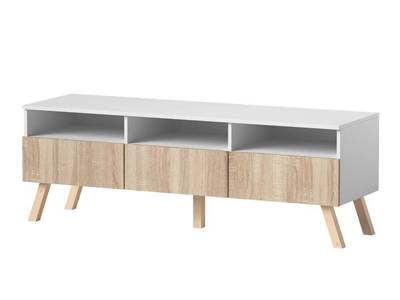 TV Unit Astra Sonoma/White II 150cm