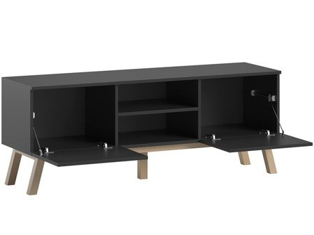 TV Unit Clyde Black Matte FREE DELIVERY