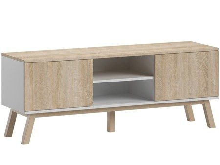 TV Unit Clyde White/Sonoma FREE DELIVERY