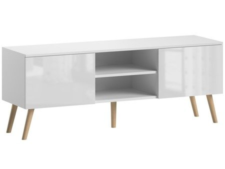 TV Unit Romeo White Gloss FREE DELIVERY