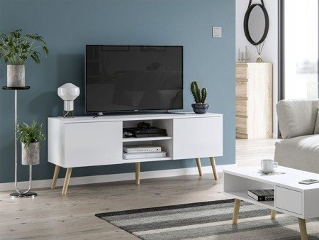 TV Unit  Romeo White Matte
