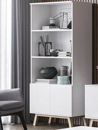 Vero Bookcase White Matt